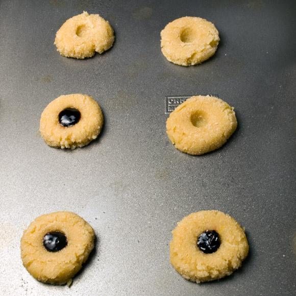 Triple Lemon Doodle Cookies on the Baking Sheet