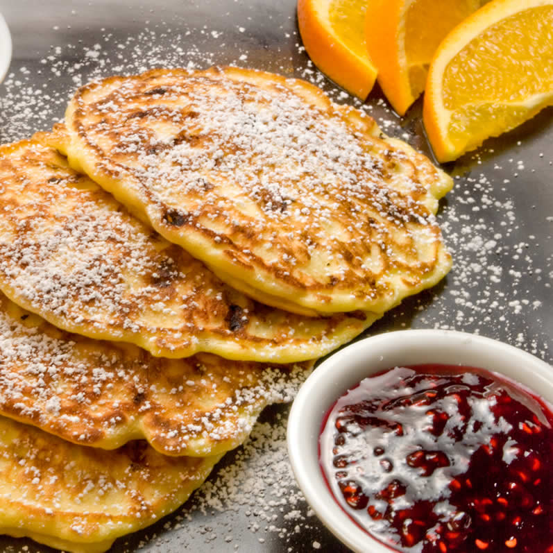 MauiJim's Cottage Cheese Pancakes