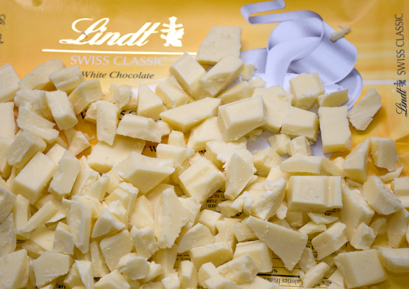 Chopped Lindt White Chocolate