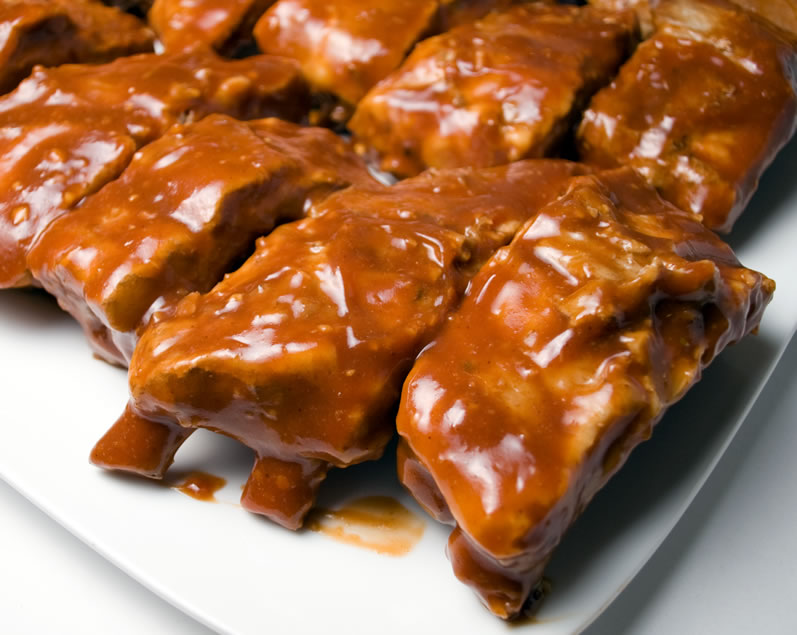 Glazed Baby Back Ribs Ready to Grill