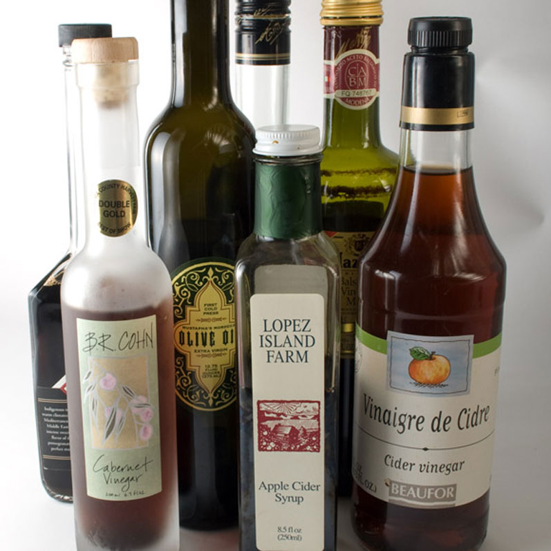 Olive Oil, Vinegars & Apple Cider Syrup