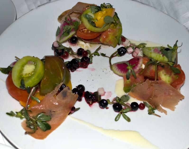 Boston, Clio, Heirloom Tomato Salad