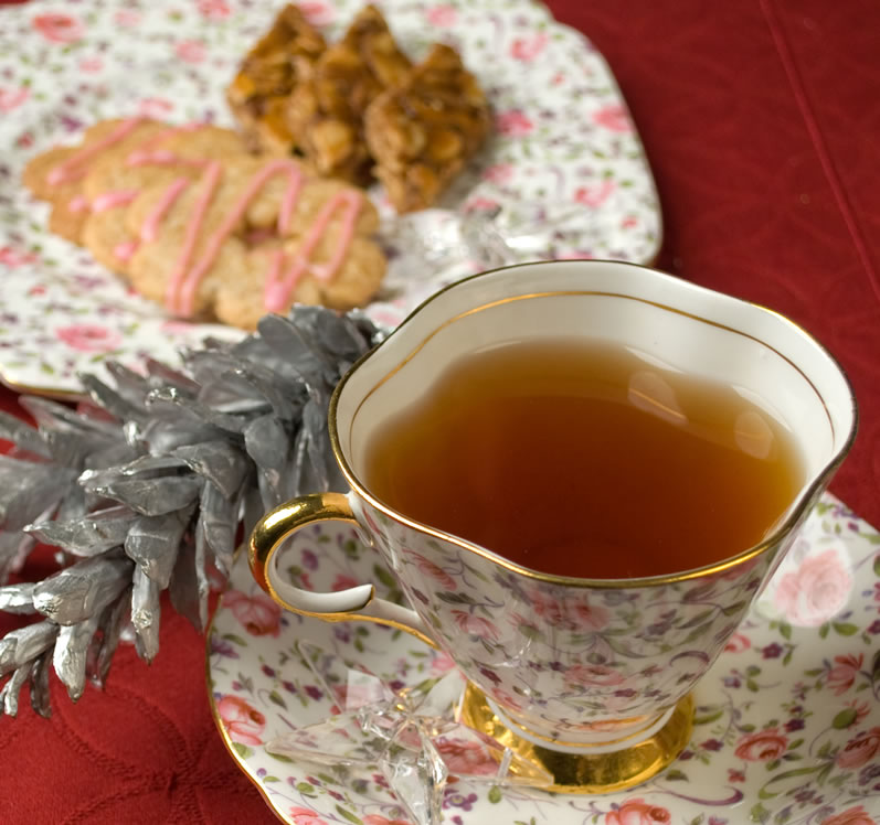 A Cup of Spicy Christmas Tea