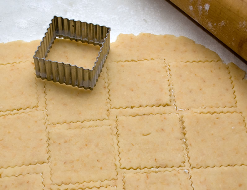 Cutting Out Rosalyn's Midwinter's Night Dream Cookies
