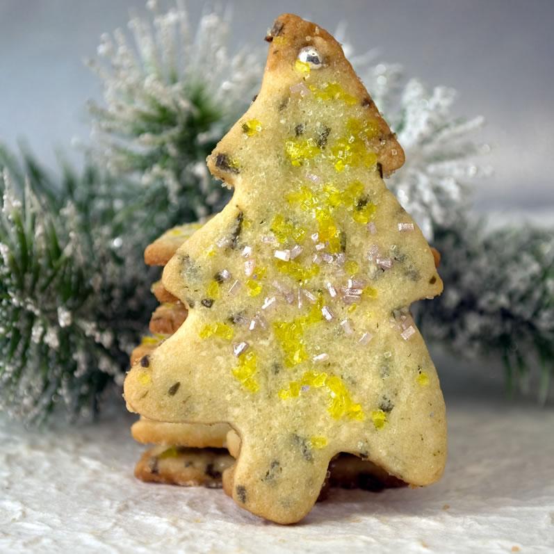 Douglas Fir & Orange Blossom Butter Cookies