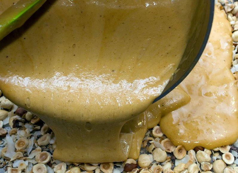 Toasted Hazelnut, Honey & Garam Masala Brittle | LunaCafe