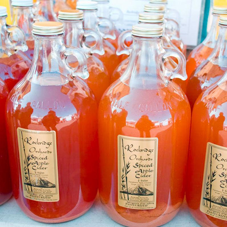 Rockridge Orchards Spiced Apple Cider