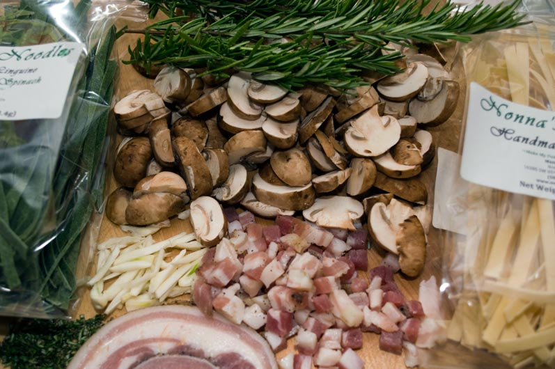 Straw and Hay Mise-en-Place
