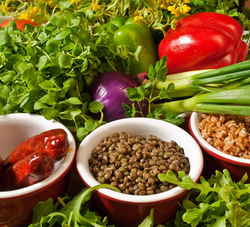 Northwest Early Spring Farro & Lentil Salad | LunaCafe