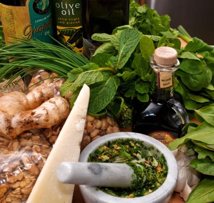 The Wonderful World of Fresh Pesto | LunaCafe