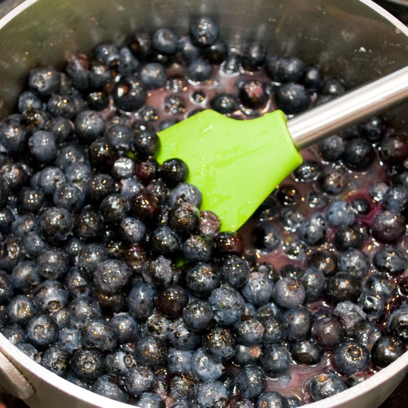 Blueberry, Lime & Rose Petal Cheesecake   LunaCafe