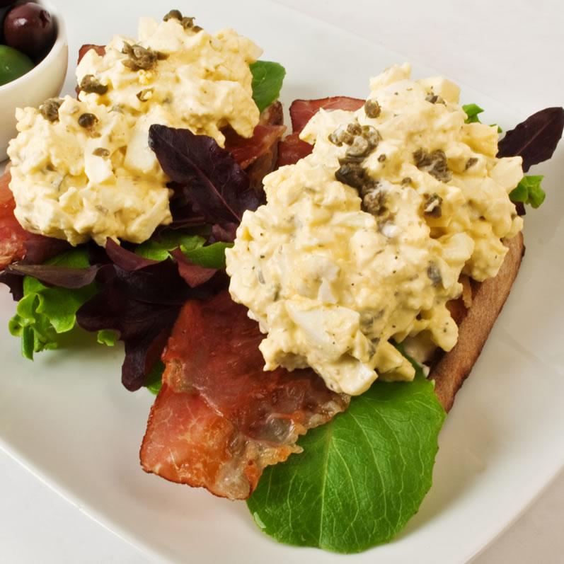 Egg Salad Sanwich Perfecta Mundo