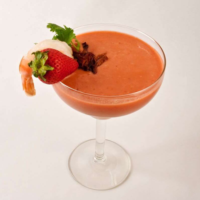 Gazpacho With Serrano Chilies Recipes — Dishmaps