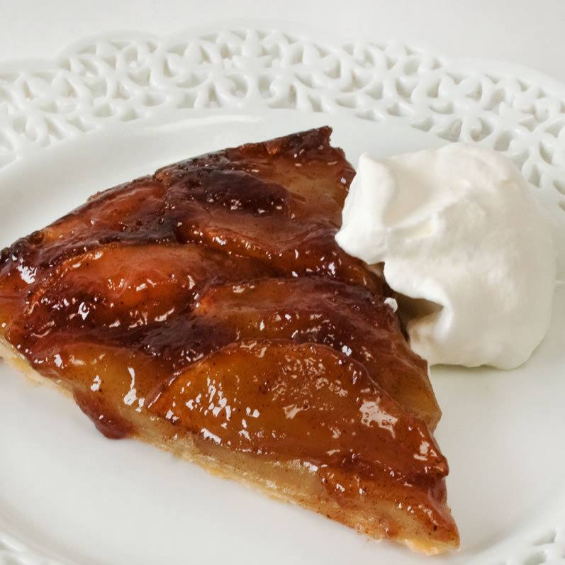 Caramelized Apple Cider Tart | LunaCafe