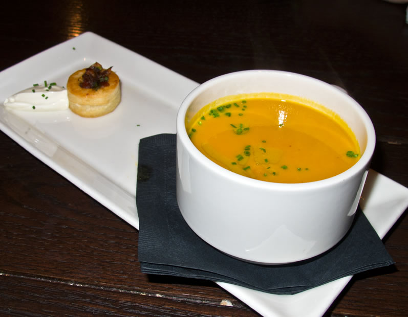 Sel de la Terre:  Native Squash Soup