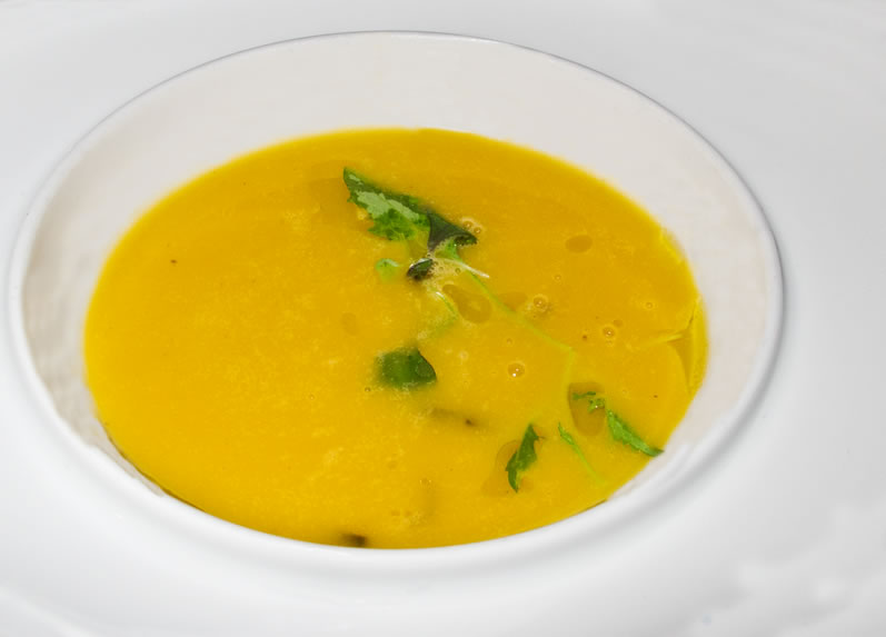 Winter Squash Soup: Sorellina's Heirloom Pumpkin & Ginger Spiced Pear Soup