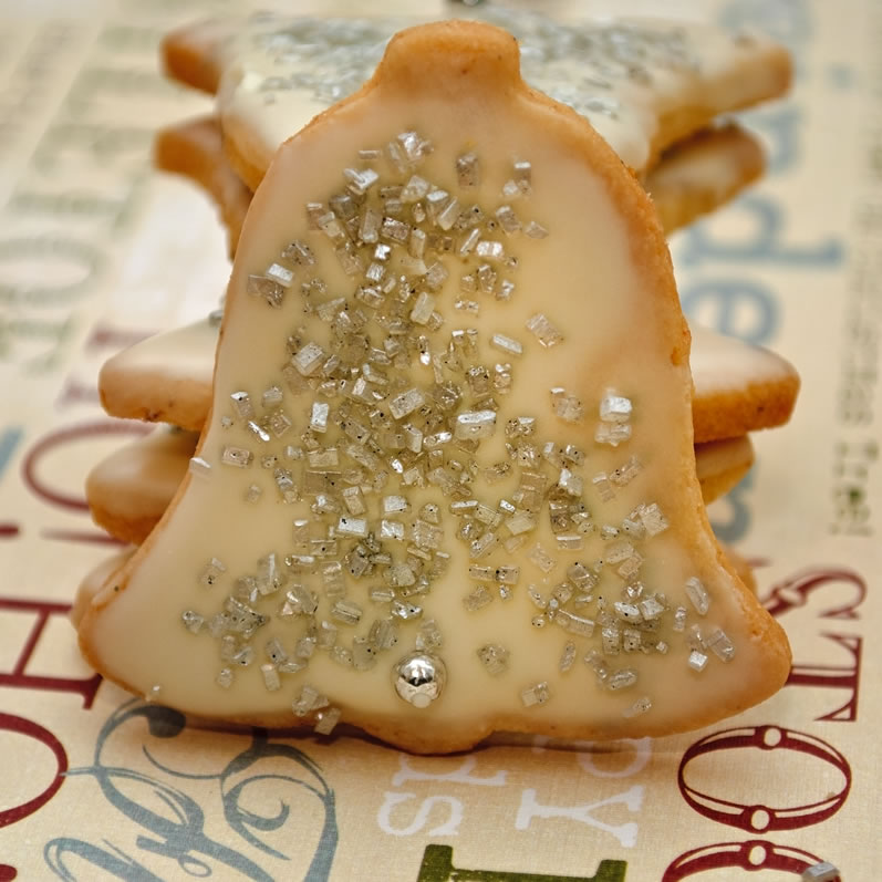 Silver Bells (Chinese Five Spice Cookies)