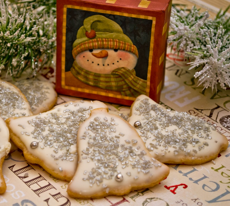 Silver Bells (Chinese Five Spice Butter Cookies)