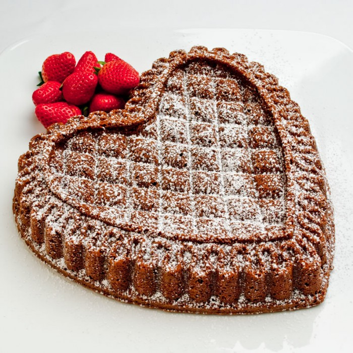 Choclate Almond Pound Cake