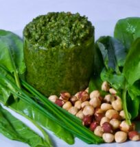 picy Sorrel and Chive Pesto