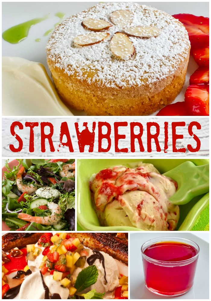 Strawberries Recipe Index