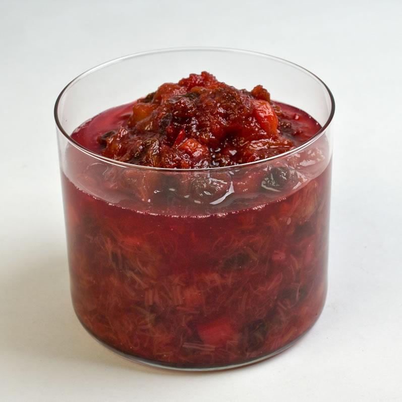 Spiced Rhubarb Chutney