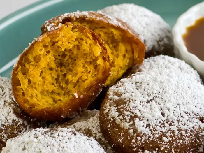 Pumpkin Butter Gingerbread Beignets