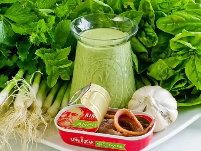 The Green Goddess (Salad Dressing)