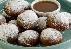 Pumpkin Butter Gingerbread Beignets