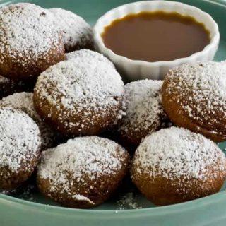 Pumpkin Butter Gingerbread Beignets | LunaCafe