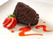 Chocolate Ginger Chipotle Stout Cake