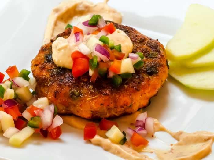 Moroccan Salmon Cakes With Garlic Mayonnaise Recipes — Dishmaps