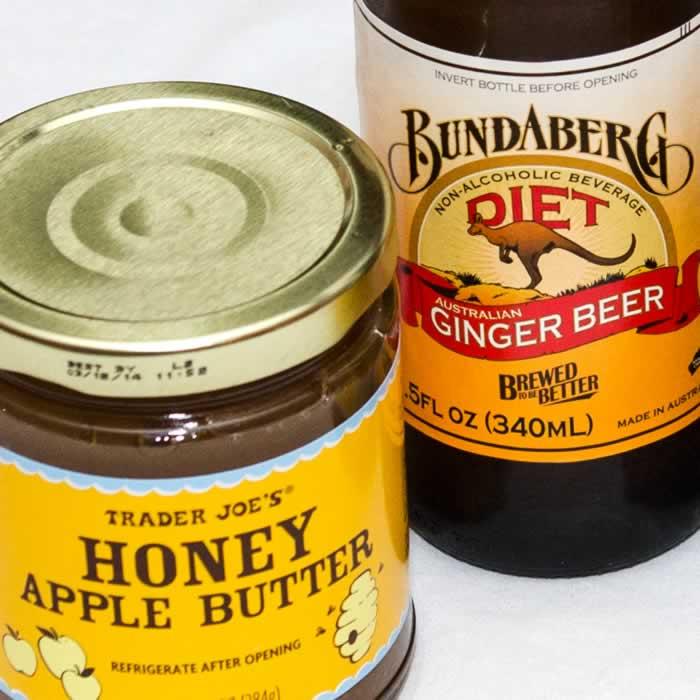 Secret Ingredients: Apple Butter and Ginger Beer