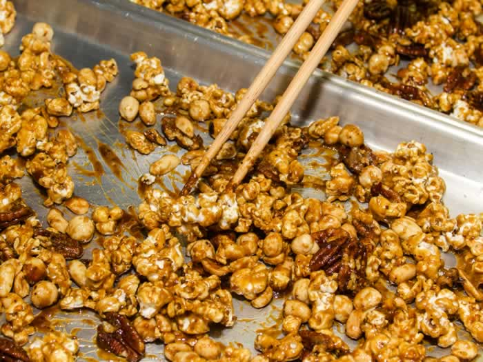 Chinese Cracker Jacks Crisp & Hot from the Oven
