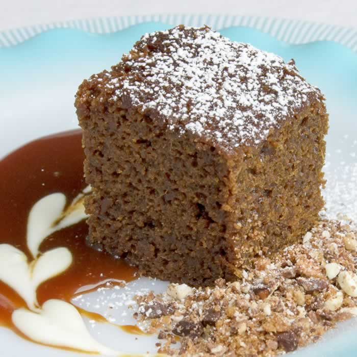 Gingerbread cake Serving 2