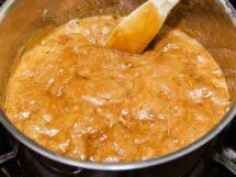 Making Caramel Syrup
