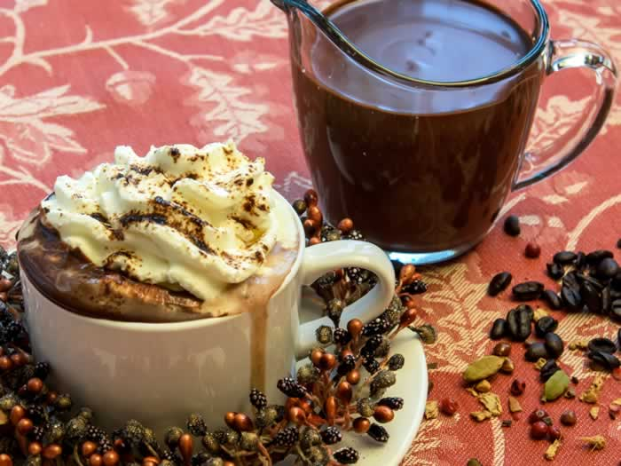 Heavenly Hot Chocolate Mix--with Seven Variations | LunaCafe