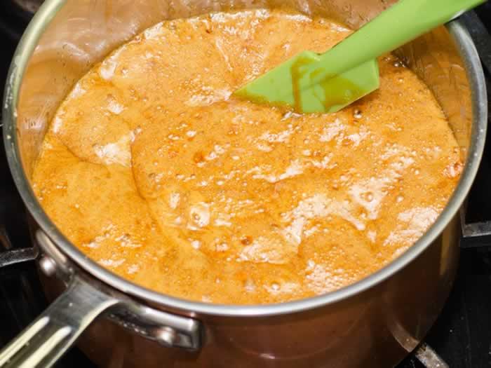 Adding Baking Soda to Caramel Syrup
