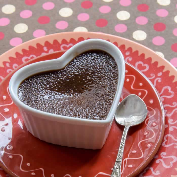 Chocolate, Peanut Butter & Honey Creme Brulee