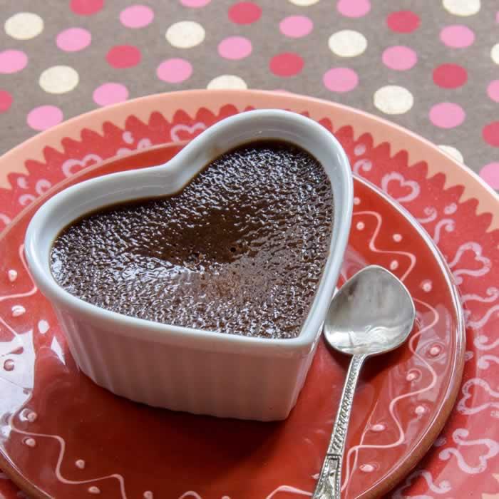 Chocolate, Peanut Butter & Honey Creme Brulee