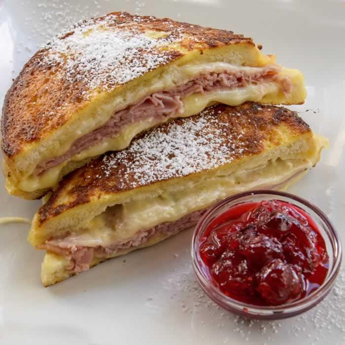 Monte Cristo Sandwich | LunaCafe