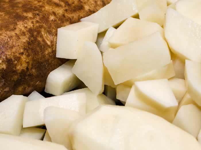 Vichyssoise Potato Prep