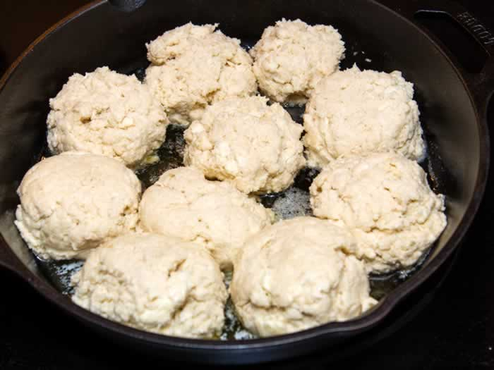 Grandma Mary's Buttermilk Skillet Biscuits Ready to Bake