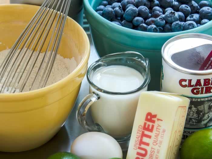 Caramel-Lime Blueberry Pudding Cake Recipe   LunaCafe