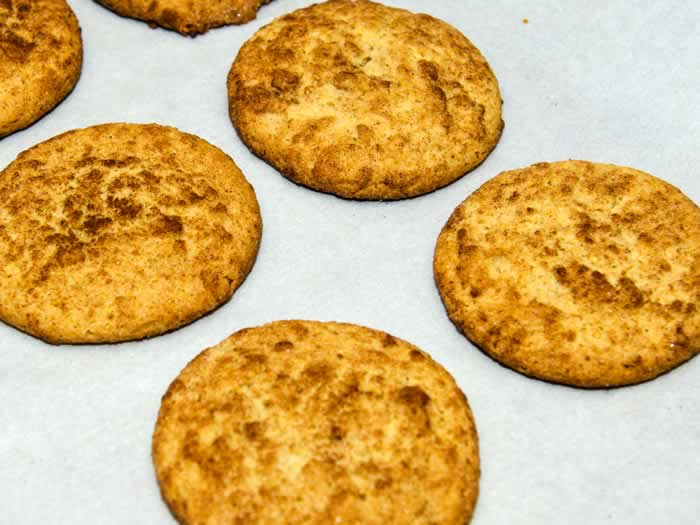 Super Chewy Snickerdoodles Fresh From the Oven