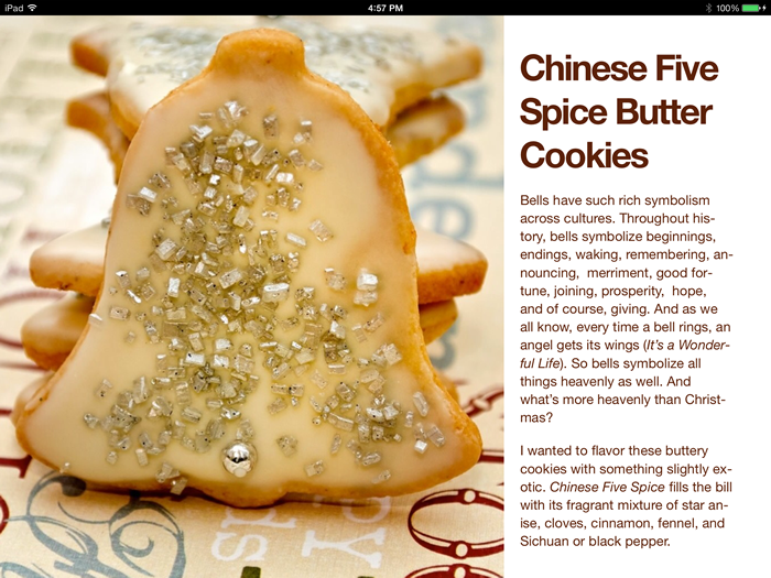 Chinese Five Spice Butter Cookie Recipe