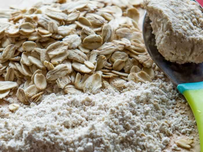 Oatmeal, Oat Flour & Oat Flour Paste