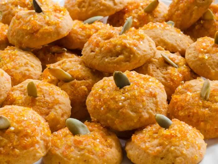 Spiced Orange Pumpkin Cookies