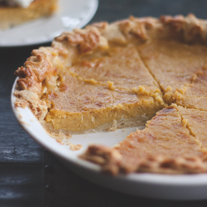 My Imperfect Pumpkin Pie by Madey Edlin