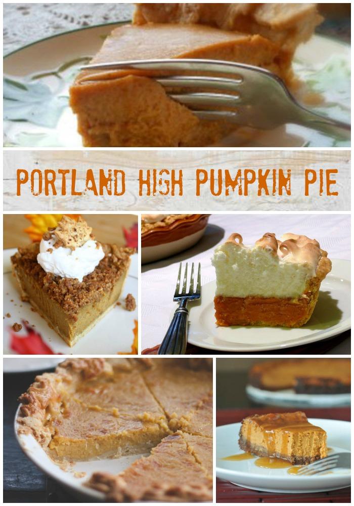 Pumpkin Pie, Ginger High, Meringue in Your Eye, Oh My   LunaCafe